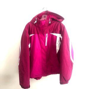 LL Bean Pink Women's Snow Jacket Insulated X-Large